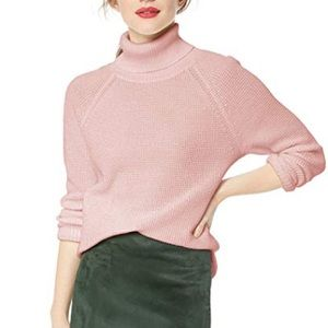 J. Crew Mercantile textured turtleneck sweater